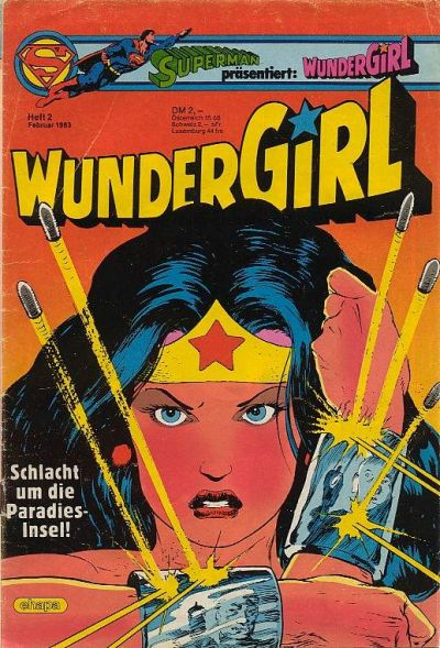 Cover for Wundergirl (Egmont Ehapa, 1976 series) #2/1983