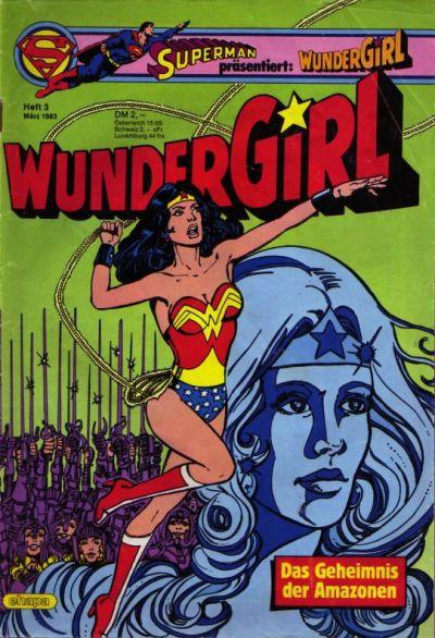 Cover for Wundergirl (Egmont Ehapa, 1976 series) #3/1983