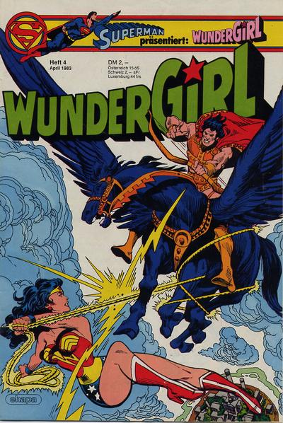 Cover for Wundergirl (Egmont Ehapa, 1976 series) #4/1983