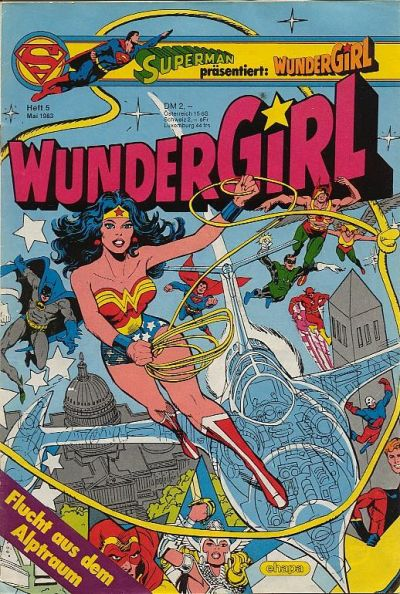 Cover for Wundergirl (Egmont Ehapa, 1976 series) #5/1983