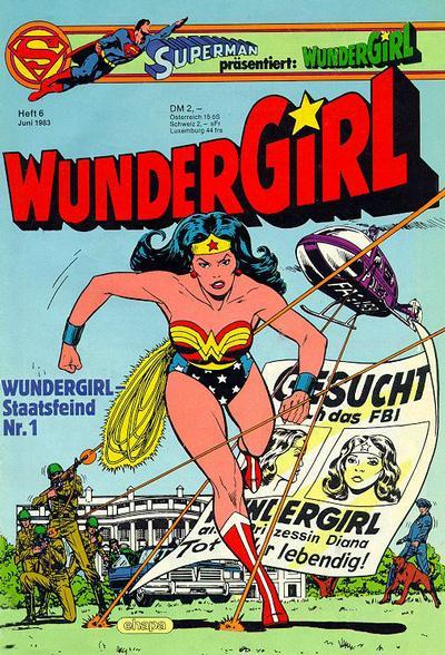 Cover for Wundergirl (Egmont Ehapa, 1976 series) #6/1983