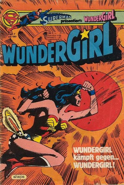 Cover for Wundergirl (Egmont Ehapa, 1976 series) #7/1983