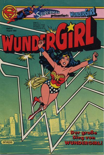 Cover for Wundergirl (Egmont Ehapa, 1976 series) #8/1983