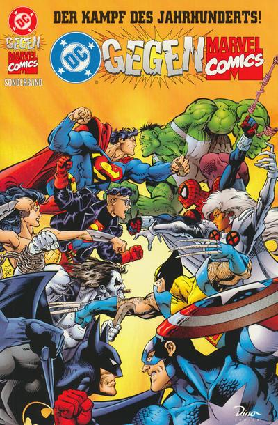 Cover for DC gegen Marvel Sonderband (Dino Verlag, 1996 series) #2
