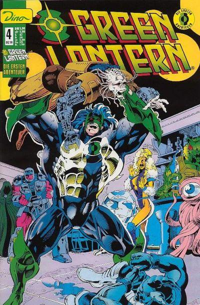 Cover for Green Lantern Die ersten Abenteuer (Dino Verlag, 1999 series) #4