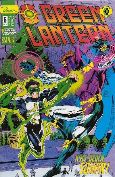 Cover for Green Lantern Die ersten Abenteuer (Dino Verlag, 1999 series) #6