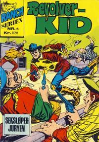 Cover Thumbnail for Ranchserien (Illustrerte Klassikere / Williams Forlag, 1968 series) #4