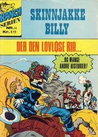 Cover Thumbnail for Ranchserien (Illustrerte Klassikere / Williams Forlag, 1968 series) #11