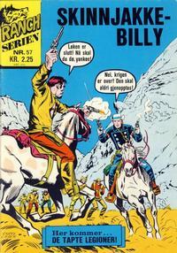 Cover Thumbnail for Ranchserien (Illustrerte Klassikere / Williams Forlag, 1968 series) #57