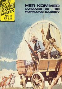 Cover Thumbnail for Ranchserien (Illustrerte Klassikere / Williams Forlag, 1968 series) #58