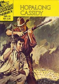 Cover Thumbnail for Ranchserien (Illustrerte Klassikere / Williams Forlag, 1968 series) #60