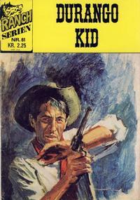 Cover Thumbnail for Ranchserien (Illustrerte Klassikere / Williams Forlag, 1968 series) #61