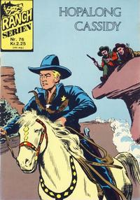 Cover Thumbnail for Ranchserien (Illustrerte Klassikere / Williams Forlag, 1968 series) #76