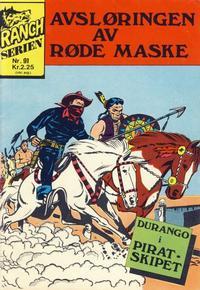 Cover Thumbnail for Ranchserien (Illustrerte Klassikere / Williams Forlag, 1968 series) #91