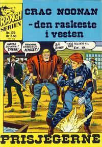 Cover Thumbnail for Ranchserien (Illustrerte Klassikere / Williams Forlag, 1968 series) #109