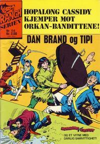 Cover Thumbnail for Ranchserien (Illustrerte Klassikere / Williams Forlag, 1968 series) #114