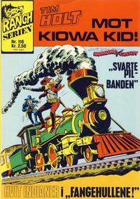Cover Thumbnail for Ranchserien (Illustrerte Klassikere / Williams Forlag, 1968 series) #116