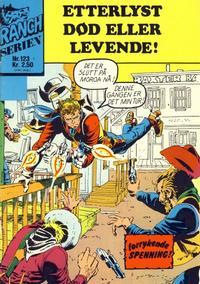 Cover Thumbnail for Ranchserien (Illustrerte Klassikere / Williams Forlag, 1968 series) #123