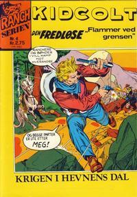 Cover Thumbnail for Ranchserien (Illustrerte Klassikere / Williams Forlag, 1968 series) #4 [1974]