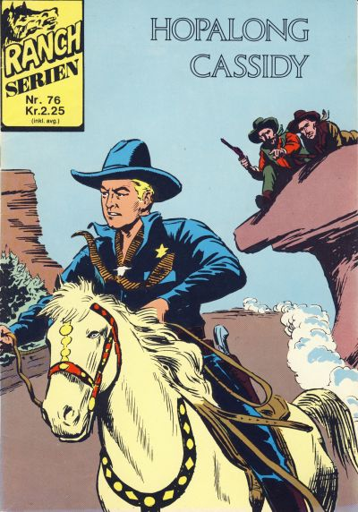 Cover for Ranchserien (Illustrerte Klassikere / Williams Forlag, 1968 series) #76