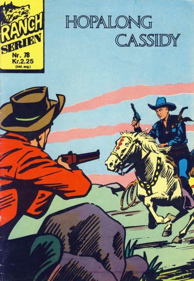 Cover for Ranchserien (Illustrerte Klassikere / Williams Forlag, 1968 series) #78