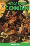 Cover for Savage Sword of Conan (Dark Horse, 2007 series) #5