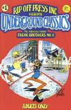 Cover Thumbnail for Underground Classics (1985 series) #1 [3.95 Cover Price]