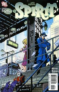 Cover for The Spirit (DC, 2007 series) #29