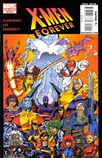 Cover Thumbnail for X-Men Forever Alpha (Marvel, 2009 series) #1 [Top Variant]