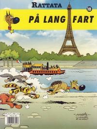 Cover Thumbnail for Rattata (Hjemmet / Egmont, 1992 series) #10 - På langfart