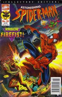 Cover Thumbnail for The Astonishing Spider-Man (Panini UK, 1995 series) #20