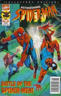 Cover Thumbnail for The Astonishing Spider-Man (Panini UK, 1995 series) #22