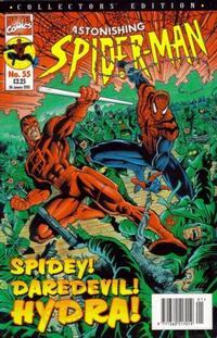 Cover Thumbnail for The Astonishing Spider-Man (Panini UK, 1995 series) #55