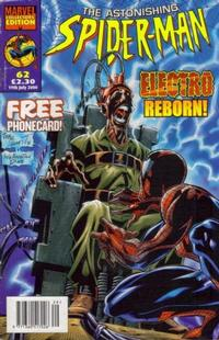 Cover Thumbnail for The Astonishing Spider-Man (Panini UK, 1995 series) #62