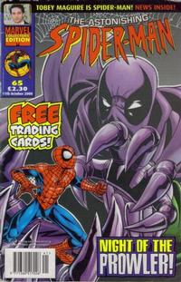 Cover Thumbnail for The Astonishing Spider-Man (Panini UK, 1995 series) #65