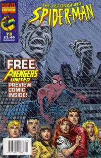 Cover Thumbnail for The Astonishing Spider-Man (Panini UK, 1995 series) #73