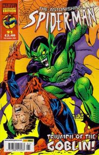 Cover Thumbnail for The Astonishing Spider-Man (Panini UK, 1995 series) #91