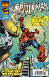 Cover Thumbnail for The Astonishing Spider-Man (Panini UK, 1995 series) #92