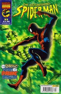 Cover Thumbnail for The Astonishing Spider-Man (Panini UK, 1995 series) #93