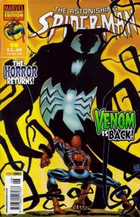 Cover Thumbnail for The Astonishing Spider-Man (Panini UK, 1995 series) #98