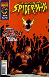 Cover Thumbnail for The Astonishing Spider-Man (Panini UK, 1995 series) #101