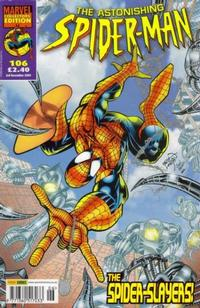 Cover Thumbnail for The Astonishing Spider-Man (Panini UK, 1995 series) #106