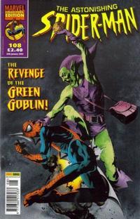 Cover Thumbnail for The Astonishing Spider-Man (Panini UK, 1995 series) #108