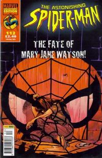 Cover Thumbnail for The Astonishing Spider-Man (Panini UK, 1995 series) #112