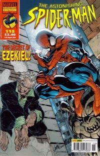Cover Thumbnail for The Astonishing Spider-Man (Panini UK, 1995 series) #115