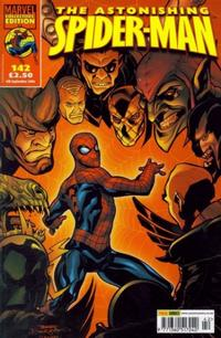 Cover Thumbnail for The Astonishing Spider-Man (Panini UK, 1995 series) #142