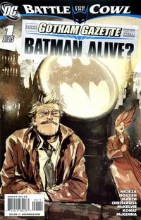 Cover Thumbnail for Gotham Gazette: Batman Alive? (DC, 2009 series) #1