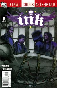 Cover Thumbnail for Final Crisis Aftermath: Ink (DC, 2009 series) #5
