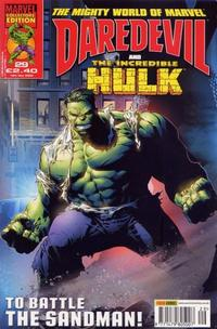 Cover Thumbnail for The Mighty World of Marvel (Panini UK, 2003 series) #29