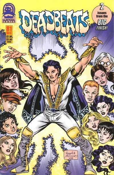 Cover for Deadbeats (Claypool Comics, 1993 series) #81